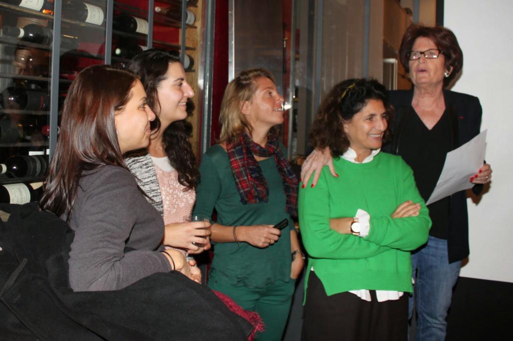 Peggy Bouchet au Cercle français de Genève