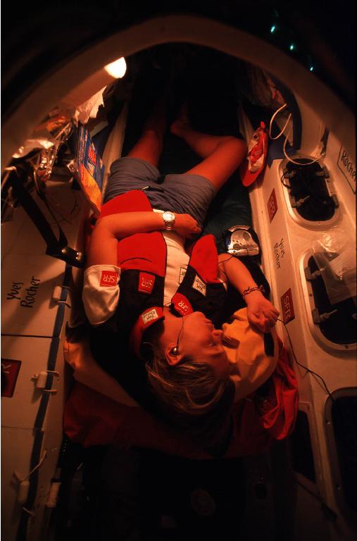la nuit à bord